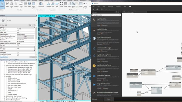 Automatically Create Structural Framing with Dynamo