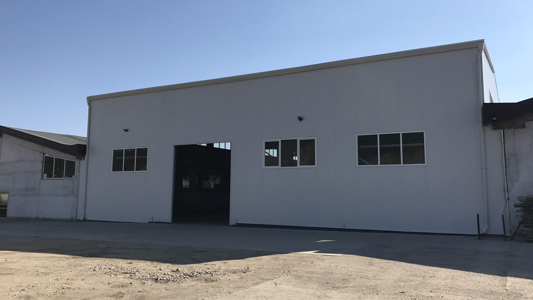 Warehouse For Steel Products