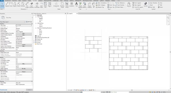 How to create Revit custom fill pattern