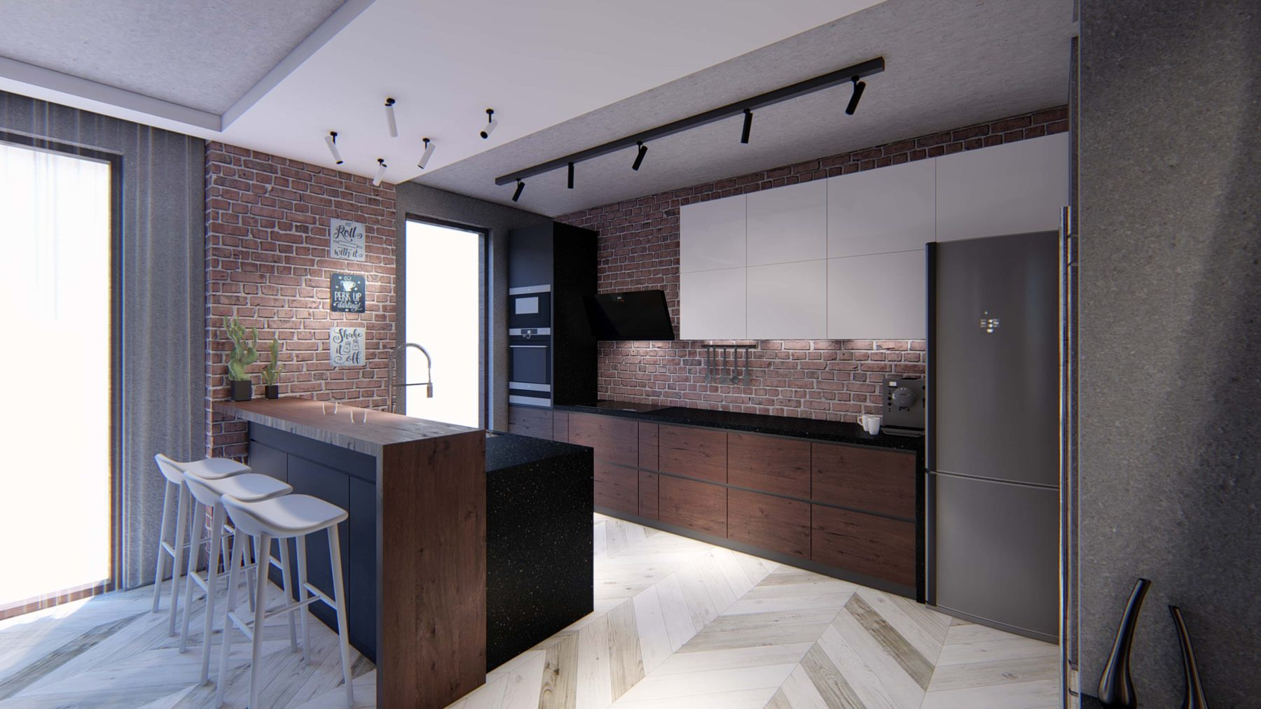 Interior Design for Kitchen for AEG Competition