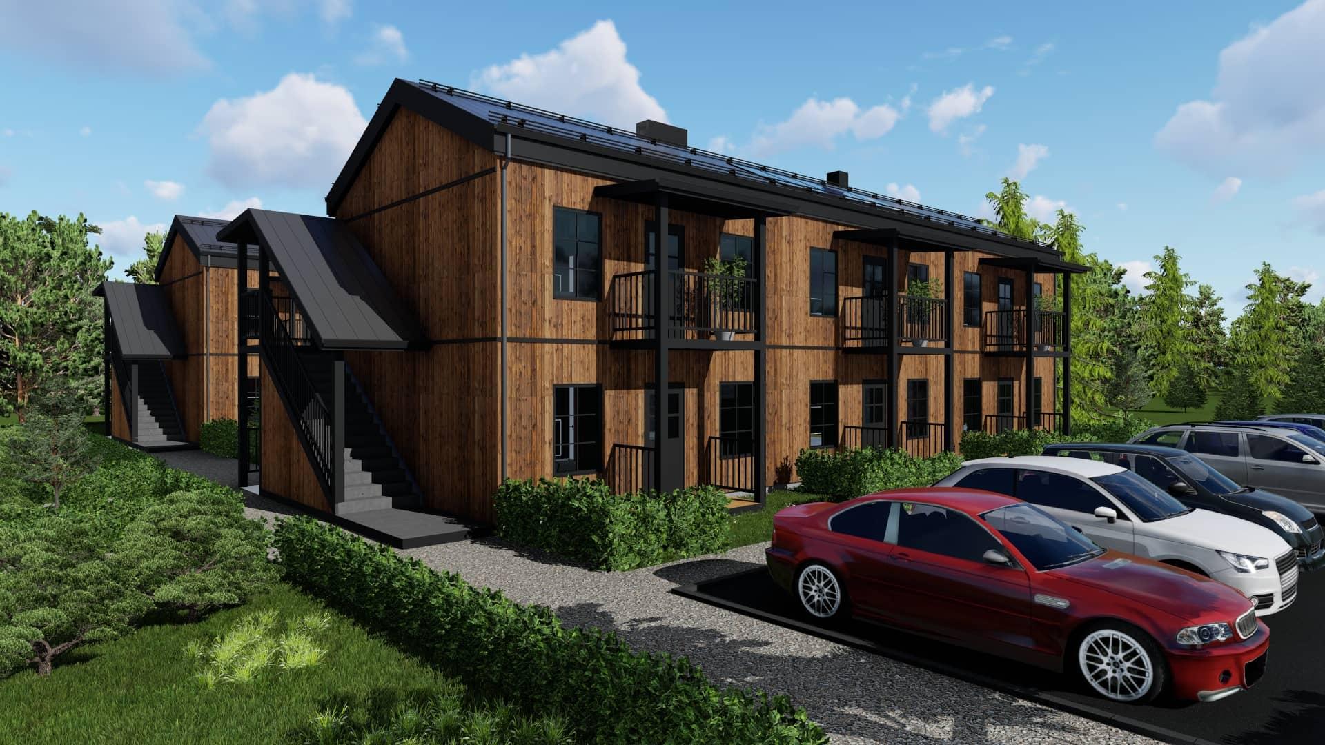 Комплекс многофамилни жилищни сгради
