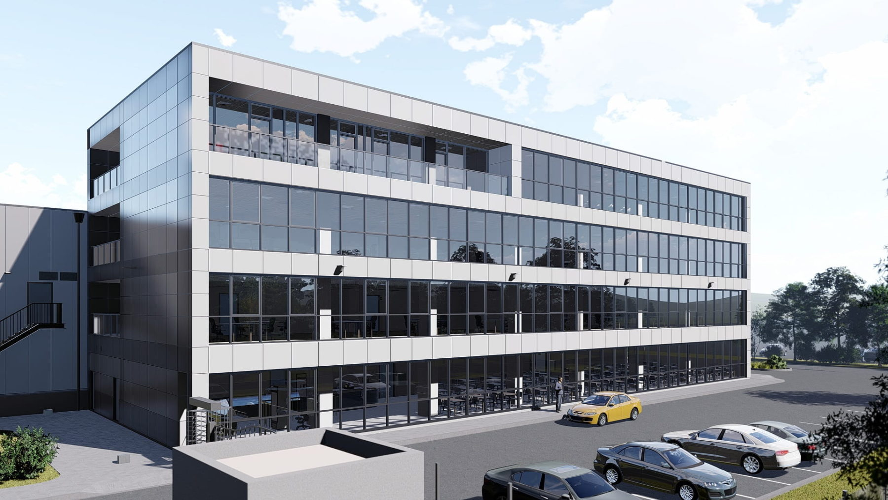 Производствена сграда със складове и офиси