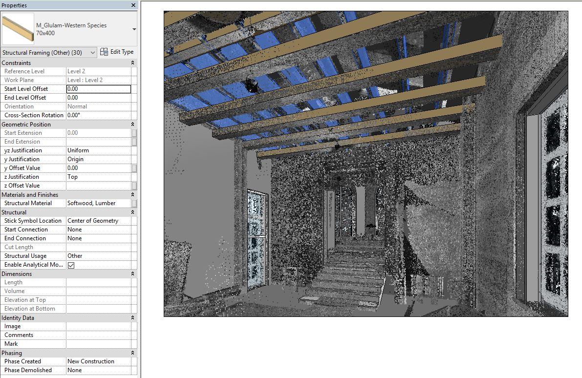 От реални обекти към BIM модели. 3D сканиране и облак от точки.
