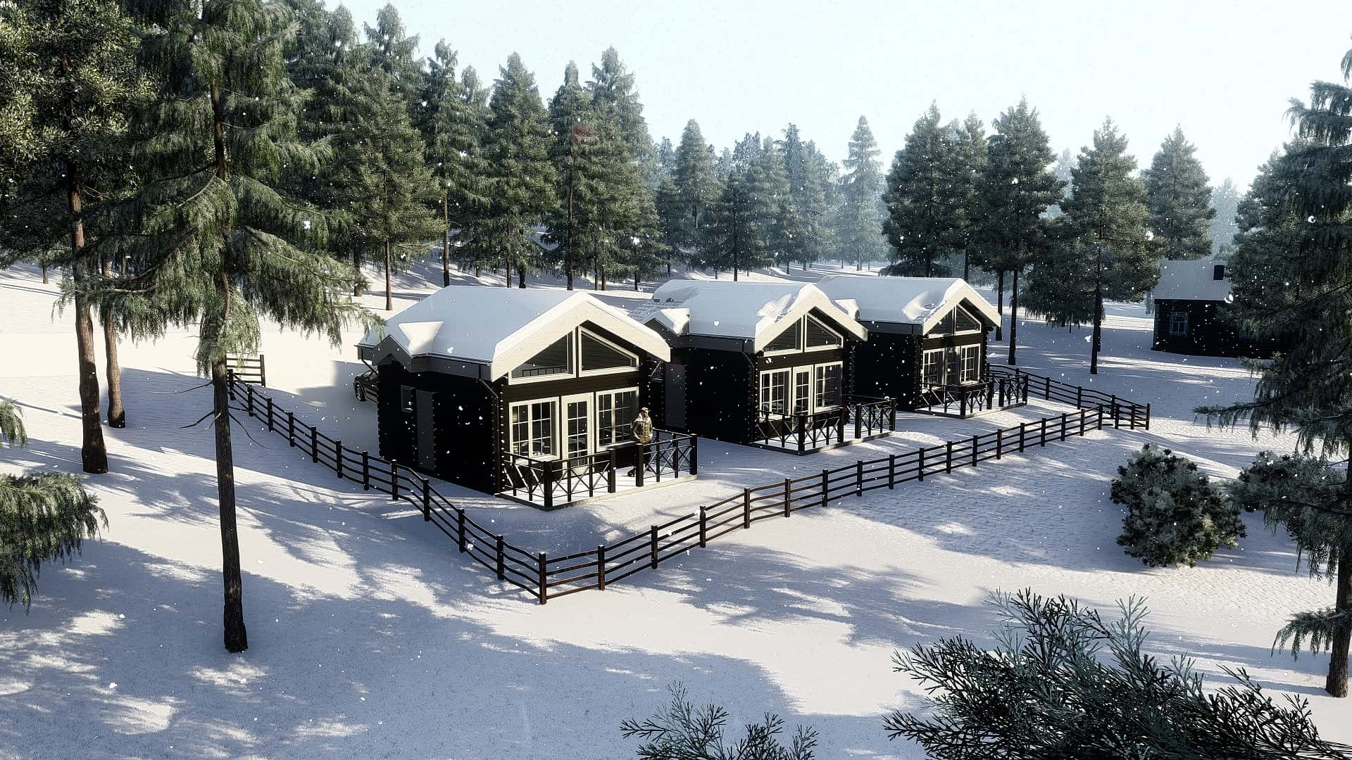 Wooden Houses | Storklinten Havsträsk 1:72