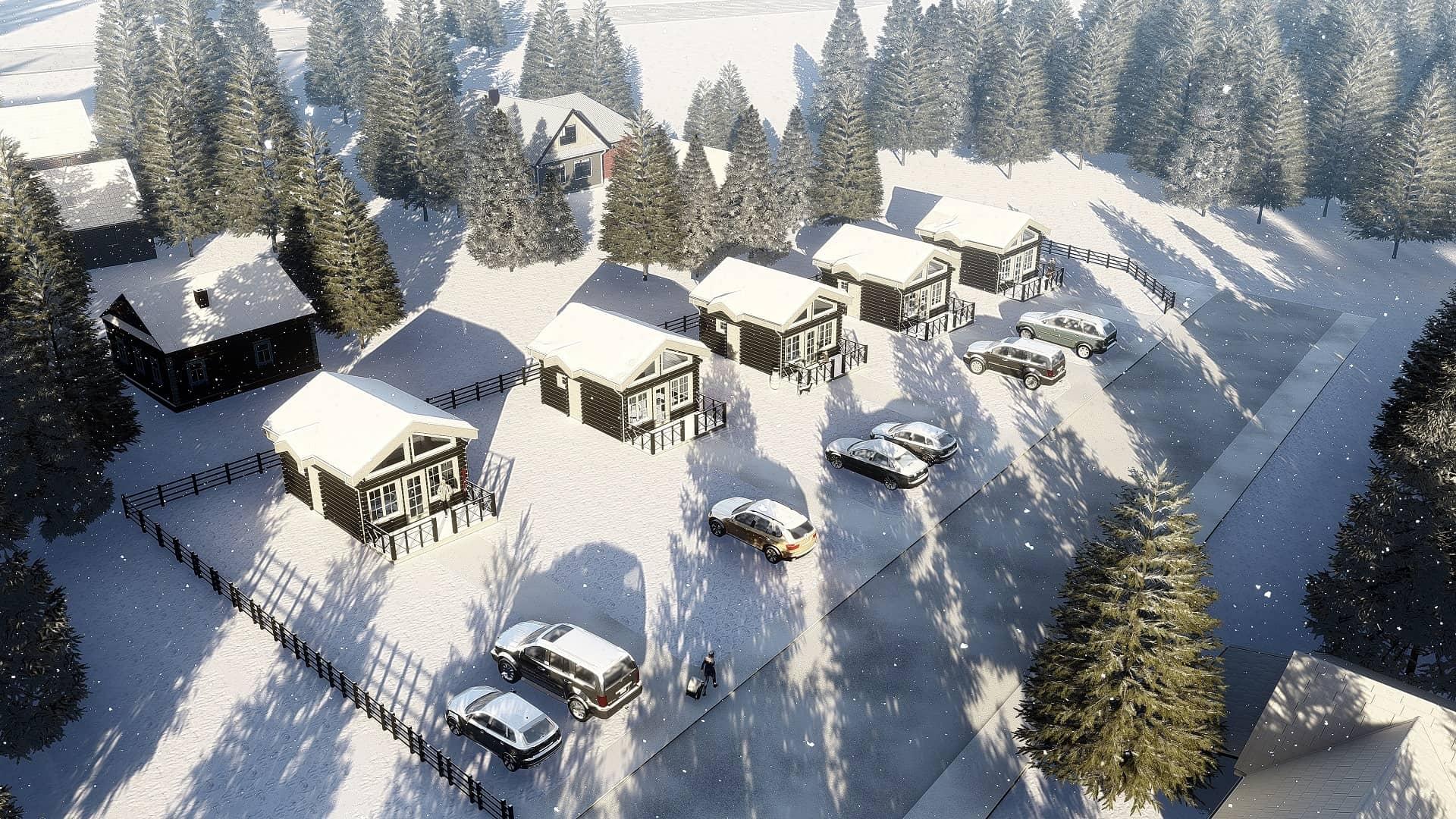Дървени Къщи | Kittelfjäll 1:525