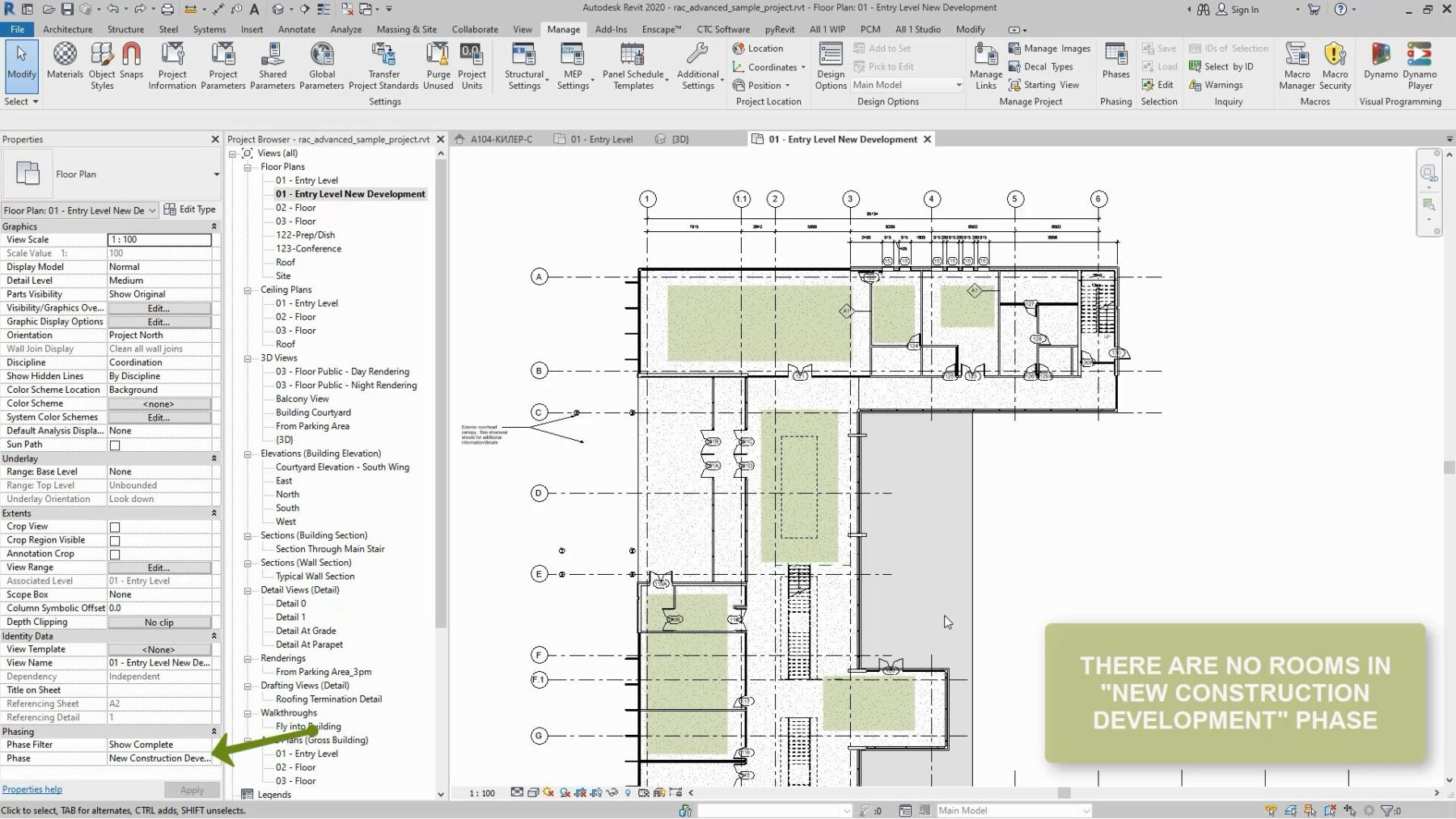 Revit Transfer Rooms From Phase