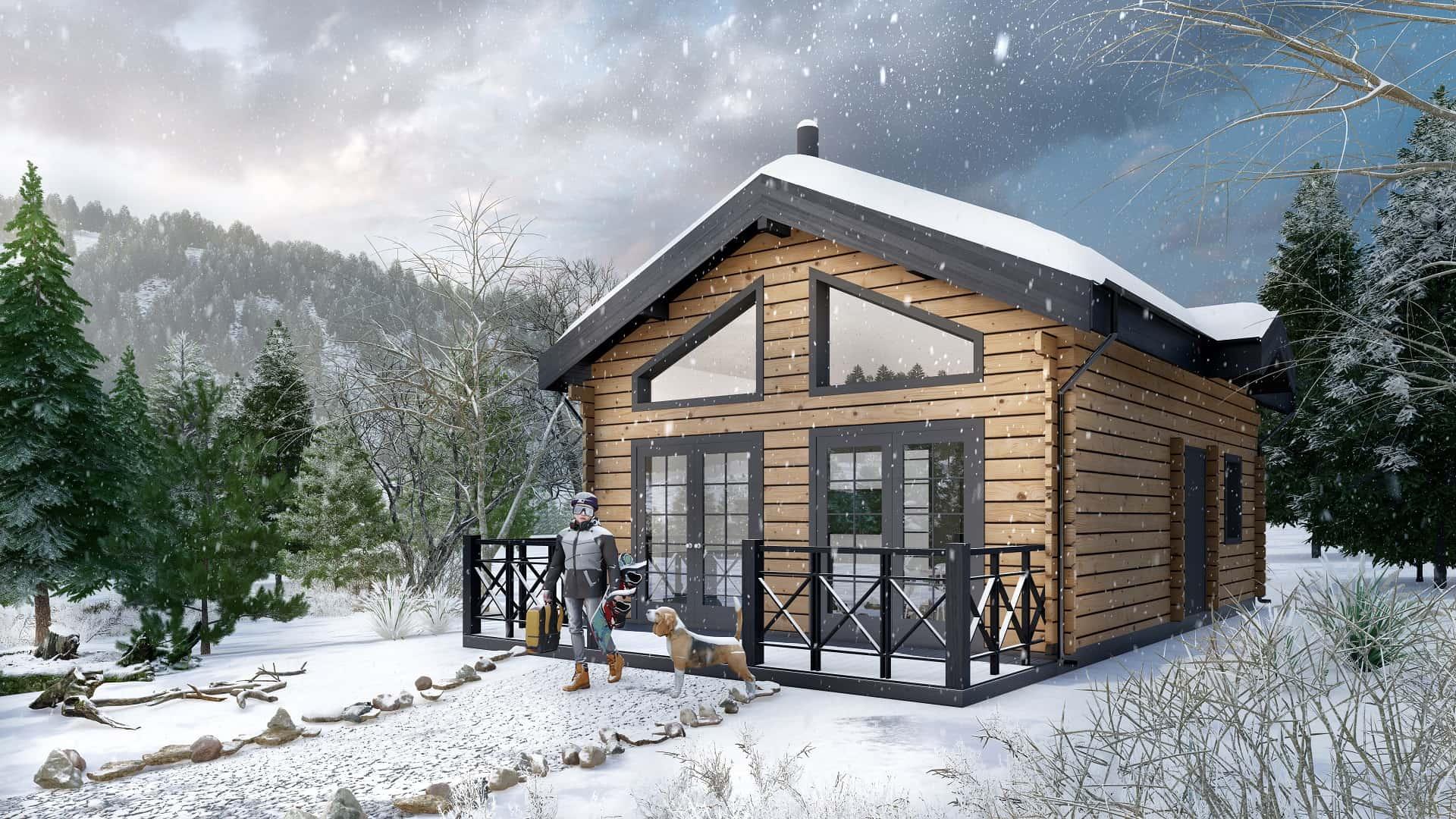 Дървена къща | Storklinten 50
