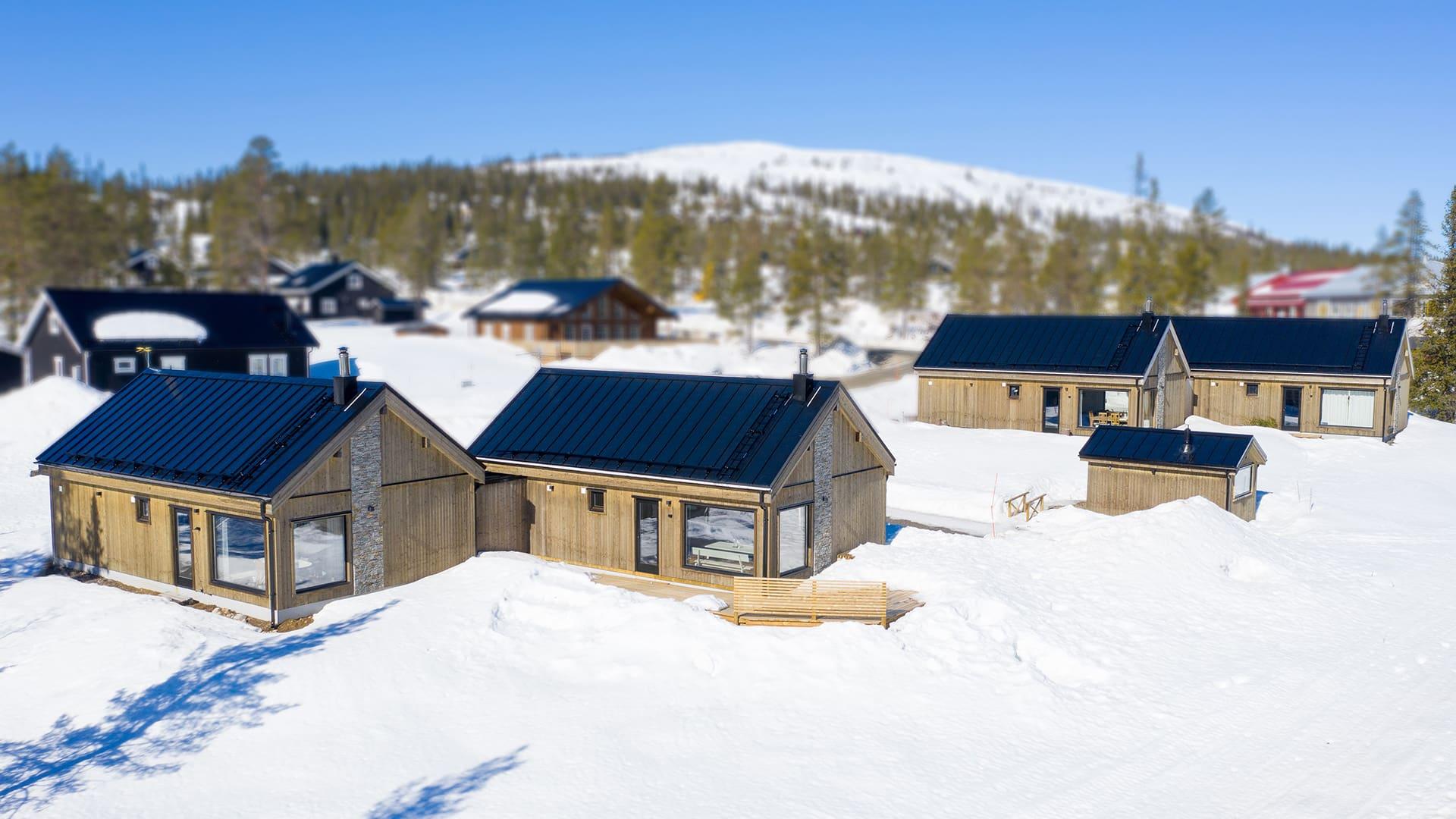Шведски планински вили | Klövsjö 5:437 & 5:438, Швеция