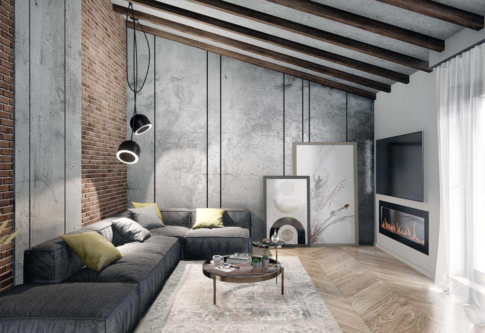 Partial Interior design of a private house